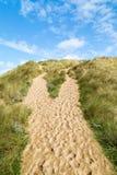 Baía de Holywell em Cornualha Reino Unido foto de stock