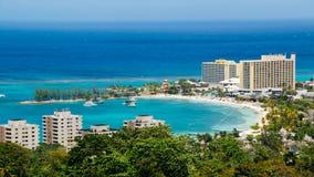 Baía de Jamaica dos Rios de Och imagens de stock royalty free