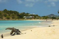A baía de Josiah, Tortola, Ilhas Virgens britânicas fotografia de stock