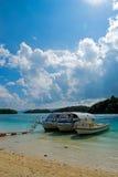 Baía de Kabira, ilha de Okinawa #2 Foto de Stock Royalty Free