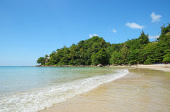 Baía de Kamala na ilha Phuket de Tailândia Imagem de Stock