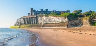Baía de Kingsgate em Margate, Kent do leste, Reino Unido imagens de stock royalty free
