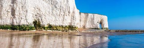Baía de Kingsgate, Margate, Kent do leste, Reino Unido imagem de stock royalty free