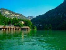 Baía 2 de Konigsee Fotografia de Stock Royalty Free