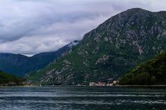 A baía de Kotor imagem de stock royalty free
