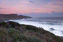 Baía de Maingon no crepúsculo Foto de Stock Royalty Free