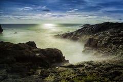 Baía de Menganti foto de stock