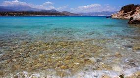 Baía de Mirabello imagens de stock