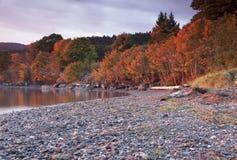 Baía de Nanoos BC Fotos de Stock