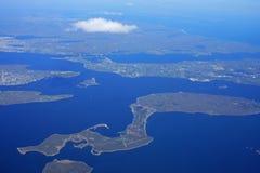 Baía de Narragansett, Rhode - ilha Fotografia de Stock Royalty Free