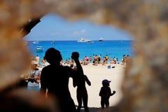 Baía de Navagio - Zakynthos - Grécia Imagens de Stock
