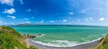 Baía de Nha Trang no fim do verão Imagens de Stock
