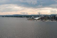 Baía de Oslo Fotos de Stock