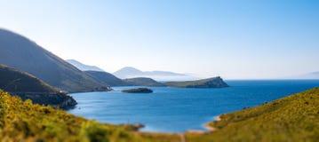 Baía de Palermo em Albânia imagens de stock