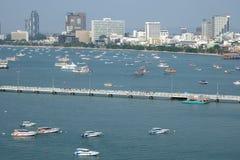 Baía de Pattaya Imagens de Stock