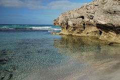 Baía de Pennington, ilha do canguru, Austrália Imagens de Stock Royalty Free