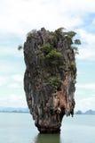 Baía de Phang Nga, Tailândia Foto de Stock