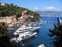 Baía de Portofino foto de stock