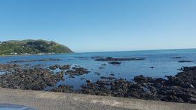 Baía de Pukerua Foto de Stock