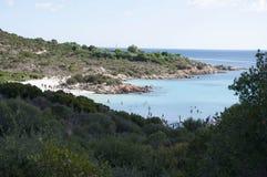 Baía de Sardinia da paisagem do príncipe Imagens de Stock Royalty Free