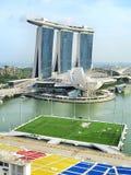 Baía de Singapura Fotos de Stock Royalty Free