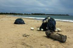 Baía de Sri Lanka - de Kalkudah foto de stock royalty free