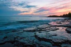 Baía de SuperiorThunder do lago, Ontário, Canadá imagens de stock royalty free