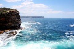 Baía de Sydney Harbour National Park Watsons, Austrália fotos de stock