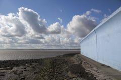 Baía de Thorney, Canvey Island, Essex, Inglaterra Foto de Stock