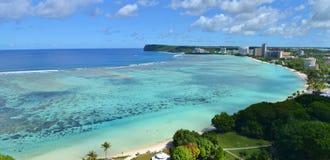 Baía de Tumon, Guam Fotos de Stock