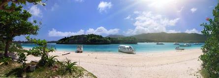 Baía de uma ilha no sul de Japão foto de stock royalty free