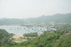 Baía de VinhHy em Vietnam Fotos de Stock