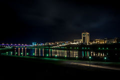 Baía de Volga Imagem de Stock Royalty Free