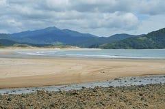 Baía de Waikawau na península de Coromandel Foto de Stock
