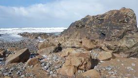 Baía de Widemouth Fotos de Stock Royalty Free