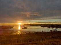 Baía de Willippa foto de stock royalty free