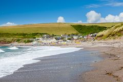 Baía Devon England Reino Unido de Challaborough Fotografia de Stock