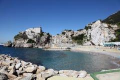 Baía do acampamento em Gibraltar Imagens de Stock
