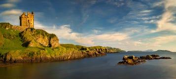 Baía do castelo de Gylen Imagens de Stock Royalty Free