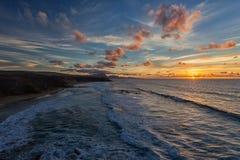 Baía do La descascada, Fuerteventura, Ilhas Canárias Fotos de Stock