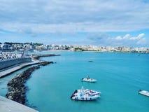 Baía do mar da beleza foto de stock royalty free