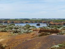 Baía do parque litoral das ilhas foto de stock