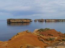 Baía do parque litoral das ilhas imagens de stock