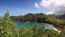 Baía do ` s do inglês - ilha de Tobago Fotografia de Stock