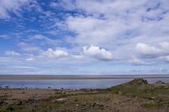 Baía do sul de Morecambe Foto de Stock Royalty Free
