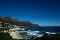 Baía do terreno de Cape Town Imagens de Stock