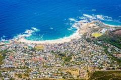 Baía dos acampamentos em Cape Town Imagem de Stock Royalty Free