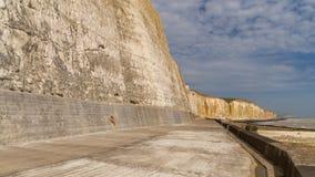 Baía dos frades, Sussex do leste, Reino Unido imagens de stock royalty free