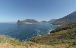 Baía falsa fora de Cape Town África do Sul Fotografia de Stock