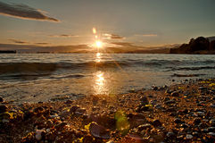 Baía inglesa Vancôver Fotografia de Stock